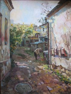 Original oil painting Simferopol outgoing classic by AnnGapGallery, $450.00