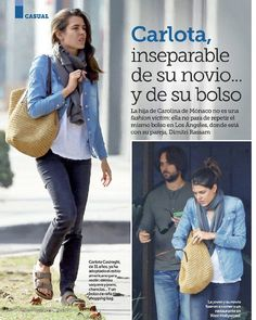 Welcome to your source for everything related to Charlotte Casiraghi, ambassadress of Gucci & Mont Blanc and in line to the Monegasque throne. Charlotte Casiraghi, Princess Caroline, Princess Charlotte, French Girl Style, Mom Style, Jean Shirt Outfits, Waiter Uniform, Boyish Style, Uñas Fashion