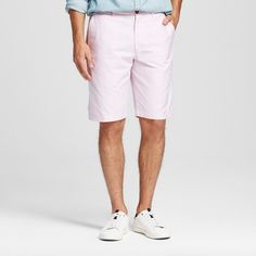 Men's Club Shorts Light Pink 32 - Merona