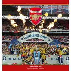 Arsenal F.C. Desktop Calendar 2016
