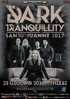 HARD N' HEAVY NEWS: DARK TRANQUILLITY - NOMINATED FOR SWEDISH GRAMMIS AWARD, ANNOUNCE NEW EUROPEAN TOUR