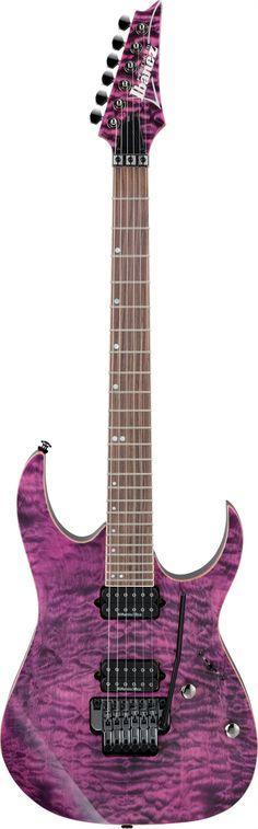 Ibanez RG Premium - RG920QM in an amazing purple.