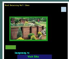 Wood Retaining Wall Ideas 072733 - The Best Image Search