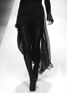 Dark fashion...YES! I love that so much!!!