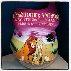 belly cast decorating ideas - Google Search