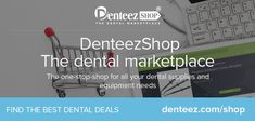 DenteezShop, the dental marketplace, buy & sell brand new or second-hand dental equipment & products. Verified UK sellers. Shop with confidence  - http://denteez.com/shop    #DentalMarketPlace #DenteezShop #dentistry #dental