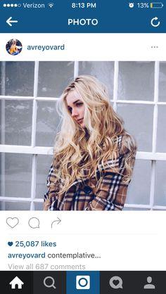 Avery ovard hair