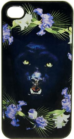 PANTHER FLOWER IPHONE 4/4S CASE. - ACCESSORIES