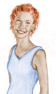 Ginny Weasley by yukimel on deviantART