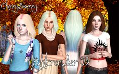 Nightcrawler 05  Teen-Elder Female only Custom Thumb Pooklet's Texture and a Blend of Reis' and Anubis' Controls  Download                             Mirror