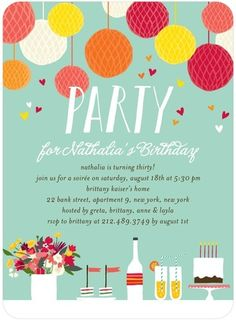3c9e43abdd1dc8b73a4ef19d19ed1f12 adult birthday party birthday party ideas adult birthday party invitations lush bouquet by tiny prints,Adult Party Invitations