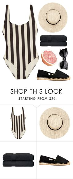 """""""jamaica"""" by annamalana ❤ liked on Polyvore featuring Solid & Striped, Soludos and ZeroUV"""