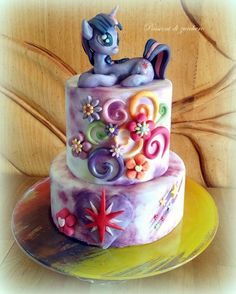 Twilight Sparkle MLP cake