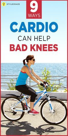 Best cardio options for bad knees