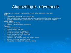 PPT - Szófajok PowerPoint Presentation - ID:1417202 Rage, Presentation