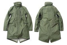 MINOTAUR 3 Layer Fish Tail Coat