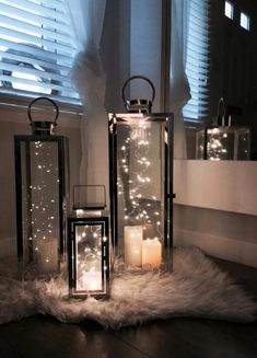 Lighting and fixtures - Diy living room .- Verlichting en armaturen – Diy woonkamer Lighting and fixtures – Diy living room - Decor Room, Diy Home Decor, Bedroom Decor, Living Room Decor Lights, Living Room Candles, String Lights In The Bedroom, Living Room Decor On A Budget, Home Decor Lights, Living Room Designs