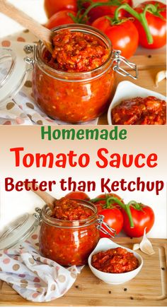 Homemade Tomato Sauce – easy and delicious basic sauce Homemade Tomato Sauce Easy, Tomato Sauce Recipe, Healthy Side Dishes, Healthy Salad Recipes, Clean Eating, Healthy Eating, Canadian Food, Greens Recipe, Easy Meals