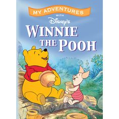 My Adventures with Winnie the Pooh - 8x11 Soft Cover Book - Personalized Books - Books | Tv's Toy Box