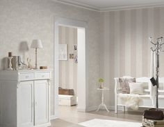 a s creation tapete 953691 tapete beige weiss natur floral modern