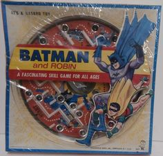 "Vintage 1966 ""Batman and Robin"" Marble Maze Hasbro 2619 | eBay"