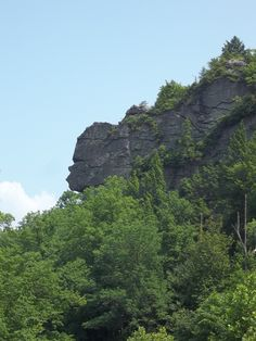 Old Stone Face in Pennington Gap, VA