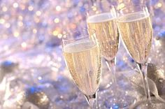 New Year's Eve champagne by FutureEdge