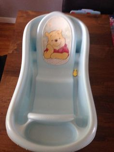 Free. Free pooh bath. Pooh is getting a little rubbed off but still has a lot of life.