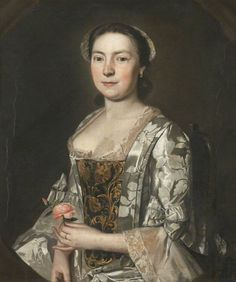 Elin Machell of Aynsome Manor, Christopher Steele, 1755; Lakeland Arts Trust AH 2834/86