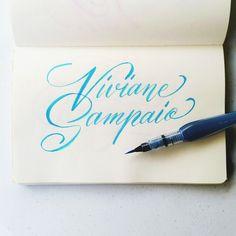 Request from @viisaah #calligrafikas #brushpen