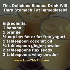 If you want to lose stomach fat forever, prepare this!