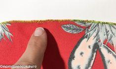 Bord roulotté 2 fils étroit surjeteuse lidl Tour Eiffel, Coin Purse, Creations, Purses, Gardens, Sewing Box, Haute Couture, Patron Couture Facile, Learn To Sew