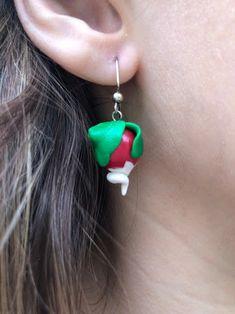 Cute Luna Radish Earrings Always Harry Potter, Slytherin Harry Potter, Harry Potter Jewelry, Harry Potter Diy, Charm Jewelry, Jewelry Rings, Unique Jewelry, Friendship Bracelets, Handmade Gifts