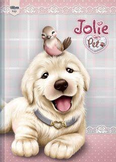 Imagens para Decoupage: Fofurinhas pets da jolie
