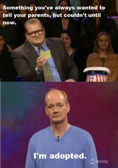 "Because it means maybe we'll find out who Colin's real parents are: | 28 Reasons You Should Be Excited That ""Whose Line Is It Anyway?"" Is Coming Back"