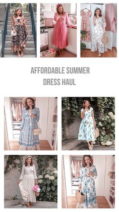 Summer Dress Haul - Ella Pretty Blog    summer outfit ideas | summer floral dresses | summer wardrobe | fashion blogger outfits summer | casual outfit ideas summer | street style summer | summer dresses | summer dress
