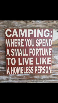 I'd rather go glamping and live like homeless royalty. Or I could stay at a hotel like a normal person.