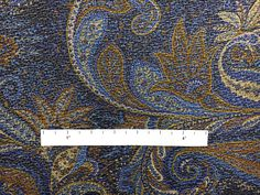 Silk and Wool Blend Metallic Crepe with Paisley Patterns B And J Fabrics, Paisley Pattern, Wool Blend, Metallic, Silk, Patterns, Block Prints, Pattern, Templates