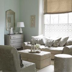 My duck egg blue wall on pinterest duck egg blue duck - Grey and duck egg blue living room ideas ...