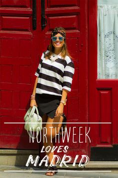 Northweek Creative Bright White Front&Arms, Ice-Blue lenses #Northweek #Sunglasses #Barcelona #HolaCuore #Fashion #Blogger