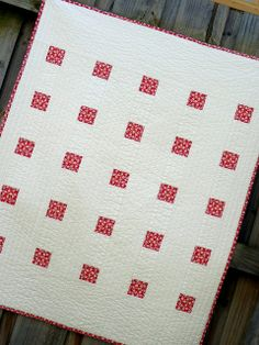 Red and white quilts make my heart sing. (So do blue & white quilts...lol)