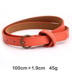 Item Type: Belts Gender: Women Department Name: Adult Brand Name: Sterglaw Pattern Type: Solid Model Number: M001 Style: Casual Buckle Width: 3 cm Belt Width: 1.8 cm Buckle Length: 2.8 cm Belts Materi