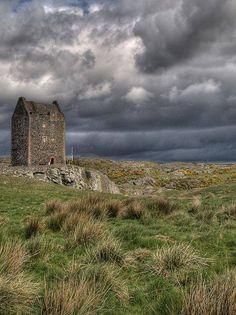 Smailholm Tower near Kelsoe Scotland