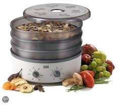 St�ckli Ovens Dehydrator Voedseldroger met 3 Metaal Roosters en Tijdsklok