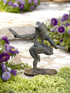 Leap Frog | Garden Decor | Buy from Gardener's Supply
