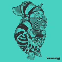 Camiseta 'Meanwhile in Wonderland'. http://cami.st/p/1784