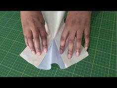 How to Insert a Godet. Let me show you this great fashion sewing technique where you can add fullness and movement to a garment. Check out the video tutorial NOW, only at FashionSewingBlogTV - http://www.youtube.com/watch?v=G6IzGzvoZcs#