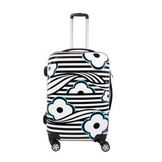 Ful 20-inch Fashion Hardside Carry-on Spinner Upright Suitcase