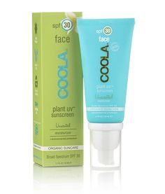 COOLA Plant UV Unscented Face Sunscreen SPF 30 - The Best Organic Suncare: COOLA Plant UV Sunscreen + Sport SPF Spray Reviews - StorybookApothecary.com #skincare #organicbeauty #sunscreen #sunblock #summer #beach