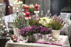 Wrzosowa dekoracja sali na wesele | Paulina's Blog